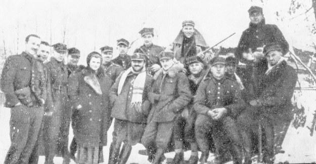 Oddział Hubalczyków z mjr. Henrykiem Dobrzańskim /CAF /PAP