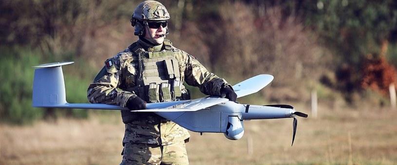 Oddziały WOT mają być wyposażone w drony. Na zdjęciu produkt WB Electronics - Flytronic FlyEye /WB Electronics /INTERIA.PL/materiały prasowe