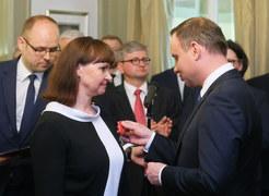 Odebrali Krzyż Kawalerski Orderu Odrodzenia Polski z rąk prezydenta