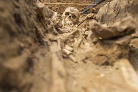 Odkryto ludzkie szczątki