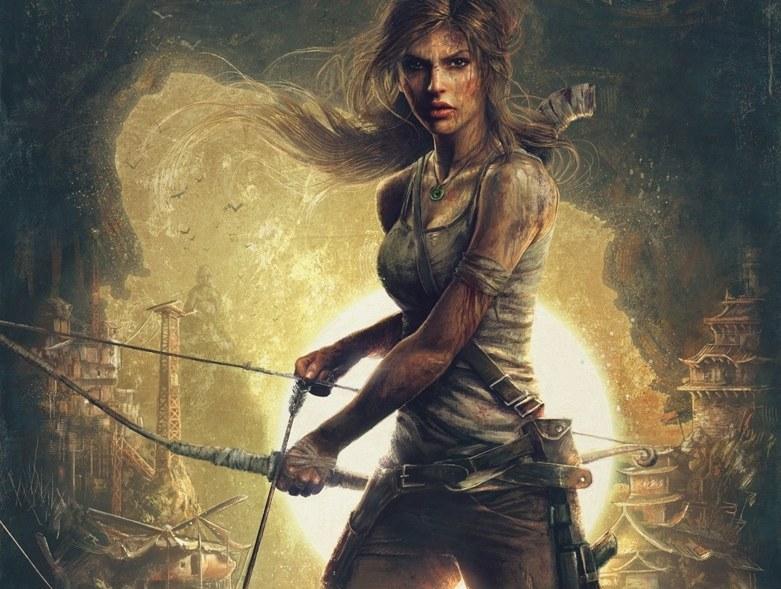 """Odmłodzona Lara Croft po """"zabiegu"""" pomniejszania piersi a /materiały prasowe"""