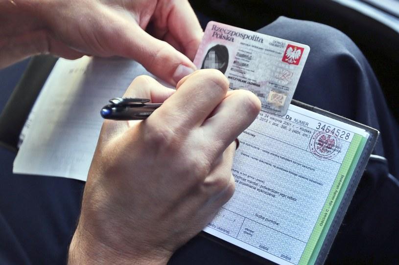 Odmowa przyjęcia mandatu nie może skutkować zatrzymaniem prawa jazdy /Piotr Jędzura /Reporter