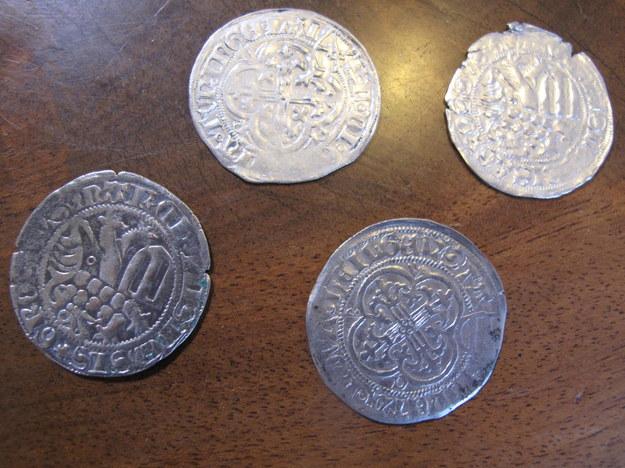 Odnalezione monety /Adam Górczewski, RMF FM /RMF FM