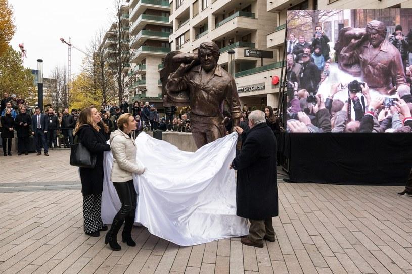 Odsłonięcie pomnika Buda Spencera w Budapeszcie /Monus Marton /PAP/EPA