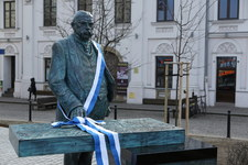 Odsłonięcie pomnika Juliusza Leo w Krakowie