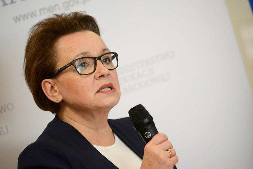 Odznaczenia przyznała minister edukacji Anna Zalewska /Mateusz Jagielski /East News