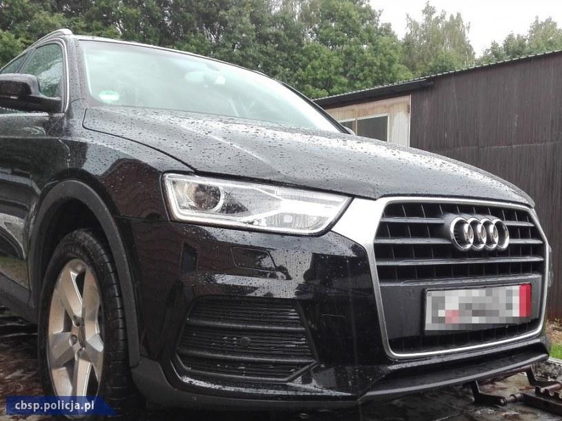 Odzyskane kradzione Audi /