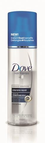 Odżywka do włosów  w sprayu,  Dove Intense Repaire,  200 ml/17,49 zł. /Mat. Prasowe