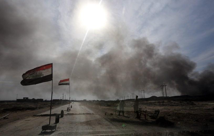Ofensywa na Mosul /AHMED JALIL /PAP/EPA