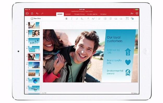 Office na iPada /materiały prasowe
