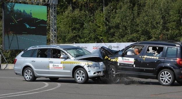 Ofiar wypadku by nie było... /