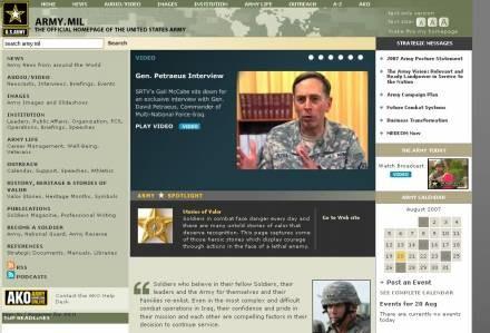 Oficjalna strona U.S. Army (c) www.army.mil /