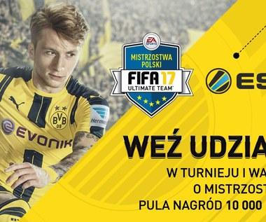 Oficjalne Mistrzostwa Polski EA SPORTS FIFA 17 Ultimate Team z pulą nagród 10 tys. zł