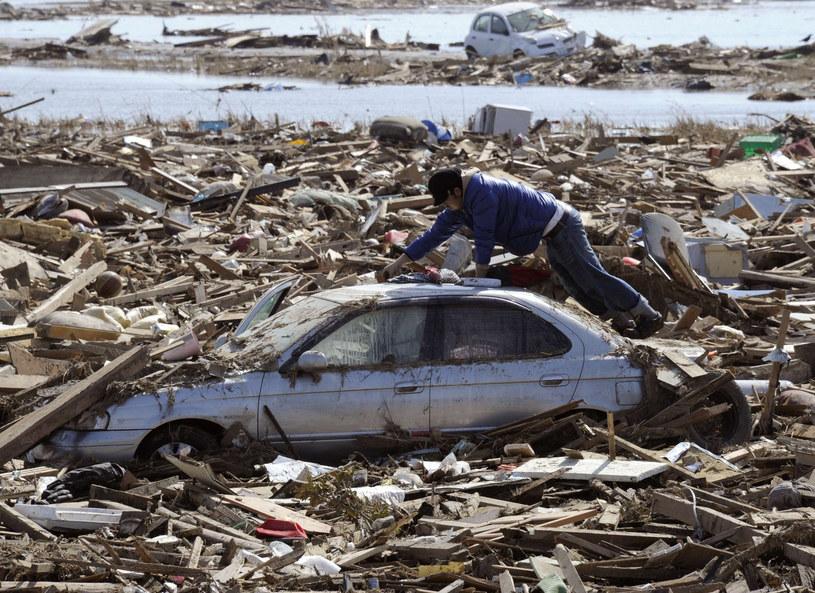 Oficjalnie, sprzątanie po tsunami trwało 3 lata /AFP/East News/Totu Yamanaka /East News