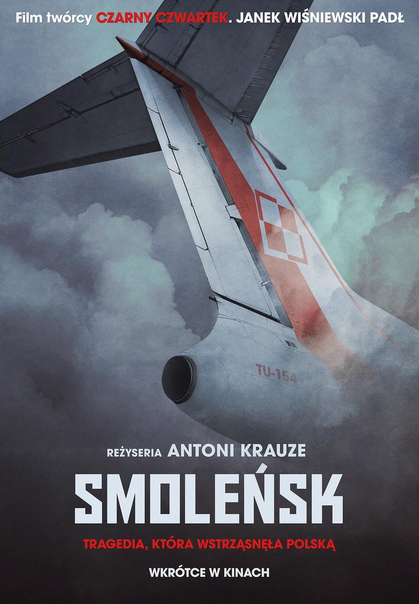 """Oficjalny plakat filmu """"Smoleńsk"""" /materiały dystrybutora"""