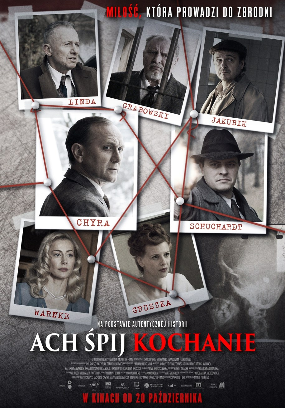 Oficjalny plakat filmu /Monolith Films /Materiały prasowe