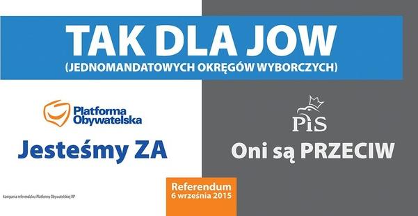 Oficjalny plakat PO /platforma.org /