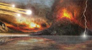 Ogień, dym i trujące gazy - tak wyglądała młoda Ziemia