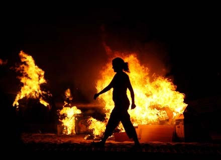 Ogień - tajemniczy, okrutny, niezbędny... /AFP