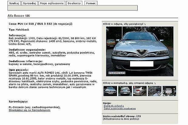 Ogłoszenie osoby prywatnej / Kliknij /INTERIA.PL