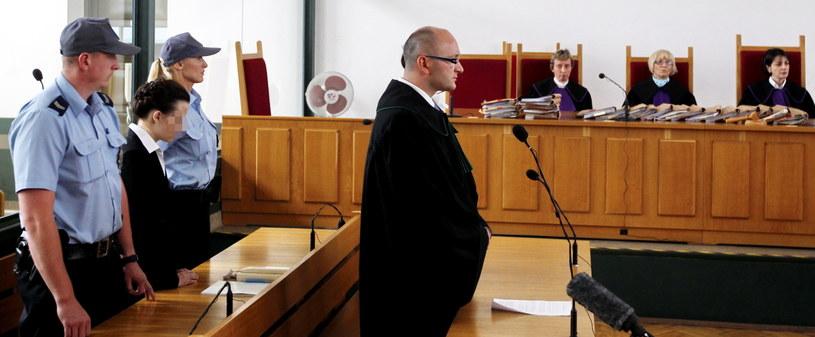 Ogłoszenie wyroku w procesie Katarzyny W. /Andrzej Grygiel /PAP