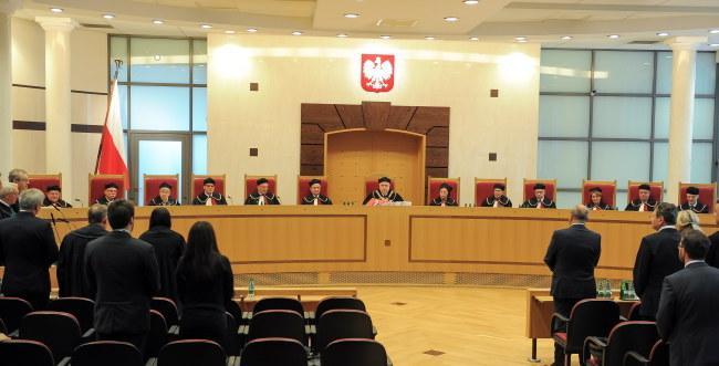 Ogłoszenie wyroku ws. SKOK /PAP/Marcin Obara /PAP