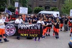 Ogólnopolski protest ratowników medycznych