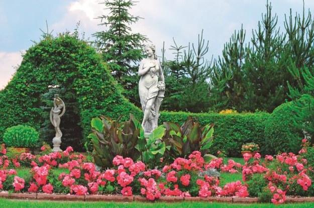 Ogród w stylu secesyjnym, który można podziwiać we Frank-Raju. /Mat. Promocyjne