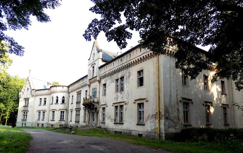 Ogrodowa elewacja pałacu w Szalejowie. Fot. D. Pietrucha /Odkrywca