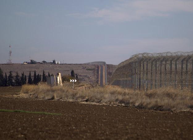 Ogrodzenie na granicy Wzgórz Golan i Syrii /JALAA MAREY / AFP /AFP