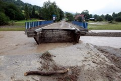 Ogrom zniszczeń po ulewach w Kasince Małej