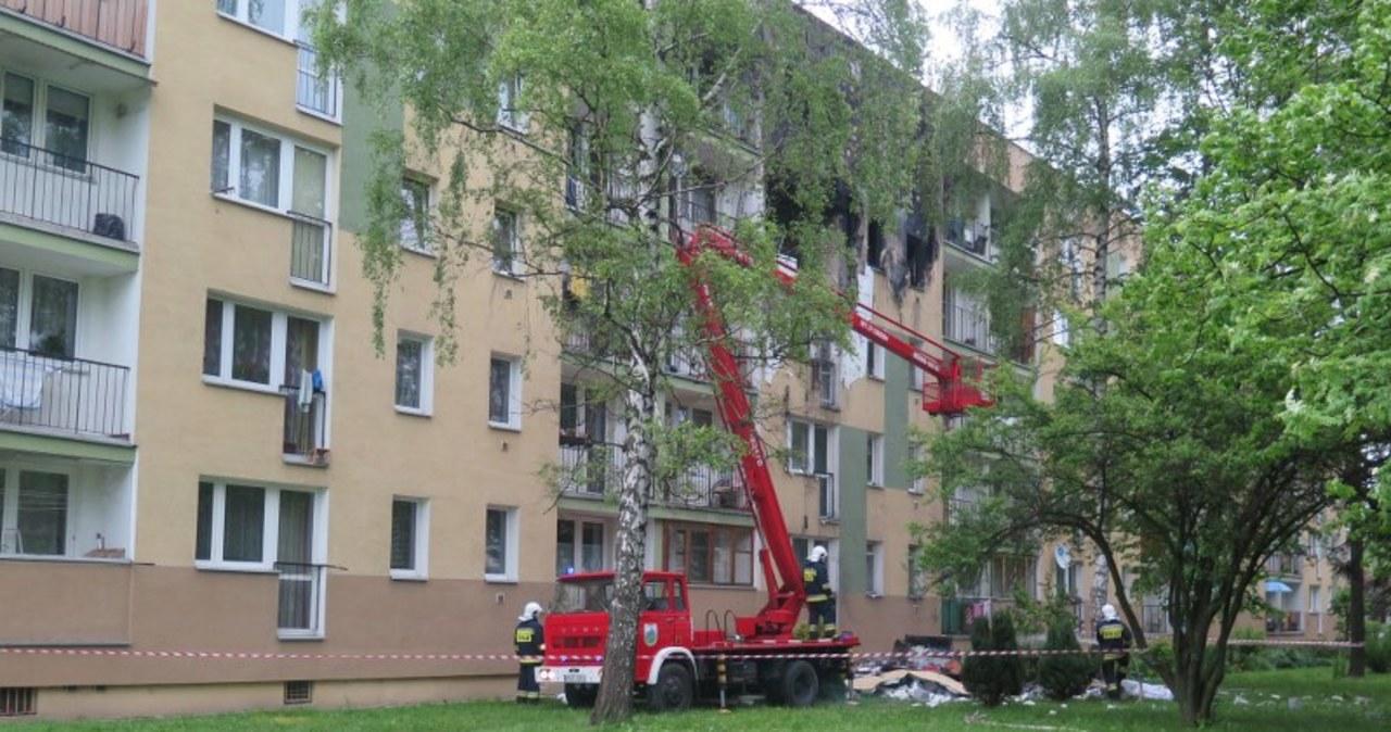 Ogrom zniszczeń po wybuchu gazu w Nowym Targu