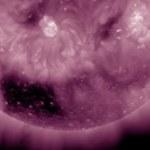 Ogromna dziura w Słońcu