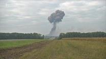Ogromna eksplozja w składzie amunicji na Ukrainie