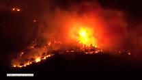 Ogromny pożar we Włoszech. Płoną wzgórza w okolicach Turynu