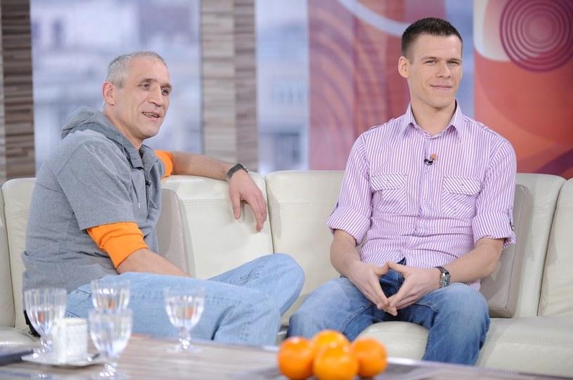 Ojciec i syn od kilku lat mają już dobre relacje /Bartosz Krupa /East News