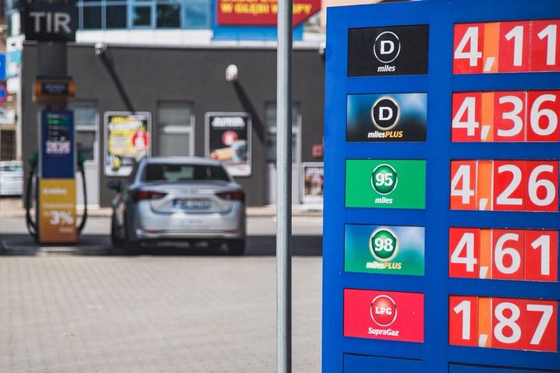 Ok. 60 procent ceny paliwa to podatki. Rząd PiS chciał więcej /Magdalena Pasiewicz /East News