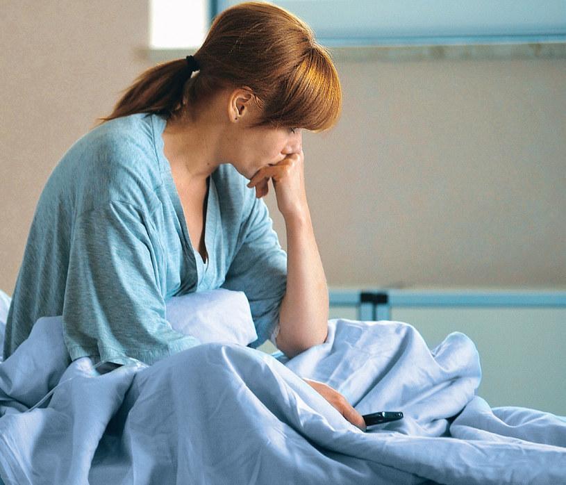 Okaże się, że ciąża Agnieszki jest zagrożona /Agencja W. Impact