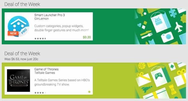 Okazje Tygodnia na zagraniczym Google Play - Smart Launcher 3 Pro, a z gier… Gra o Tron /materiały prasowe