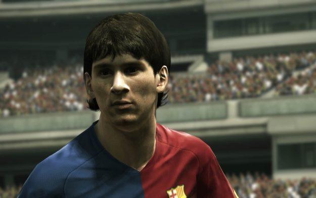 Okazuje się, że Leo Messi, piłkarz promujący serii PES, gra w FIFĘ 11 z kolegami z FC Barcelona /Informacja prasowa