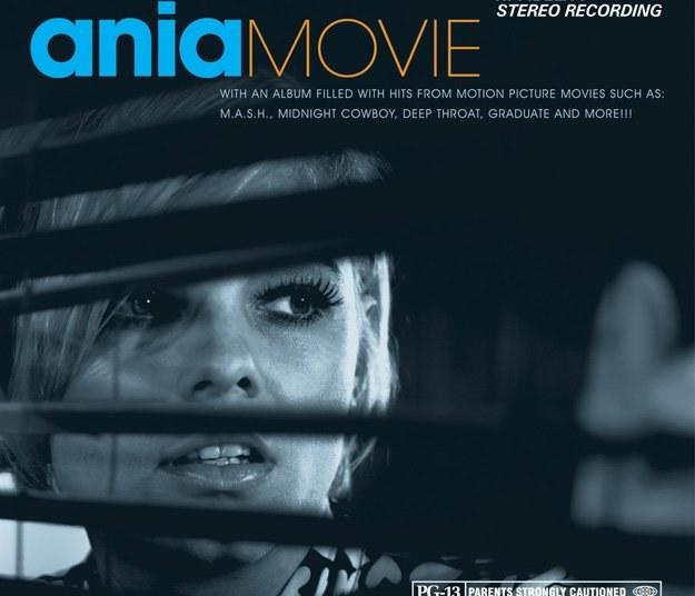 """Okładka albumu """"Ania Movie"""". Dostępna będzie także edycja limitowana z dodatkową płytą CD /"""