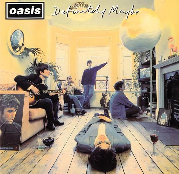 "Okładka albumu ""Definitely Maybe"" Oasis /"