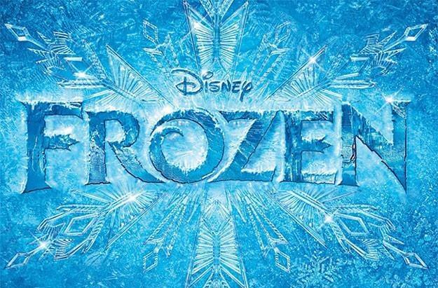 """Okładka albumu """"Frozen"""" wydanego przez wytwórnię Disneya /"""