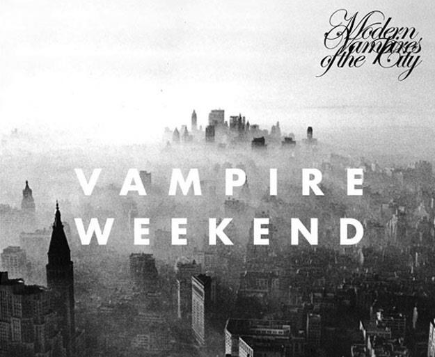 "Okładka albumu ""Modern Vampires of The City"" grupy Vampire Weekend /"