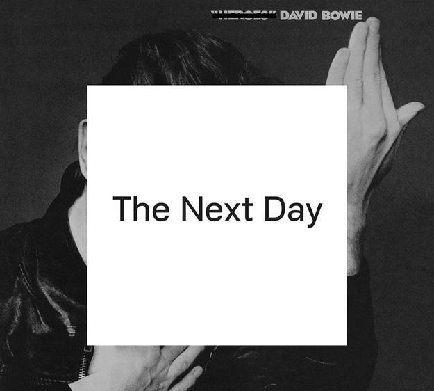 """Okładka albumu """"The Next Day"""" Davida Bowiego /"""
