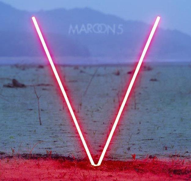 "Okładka albumu ""V"" Maroon 5 /"