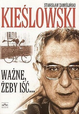 Okładka biografii Kieślowskiego pióra Stanisława Zawiślińskiego. /