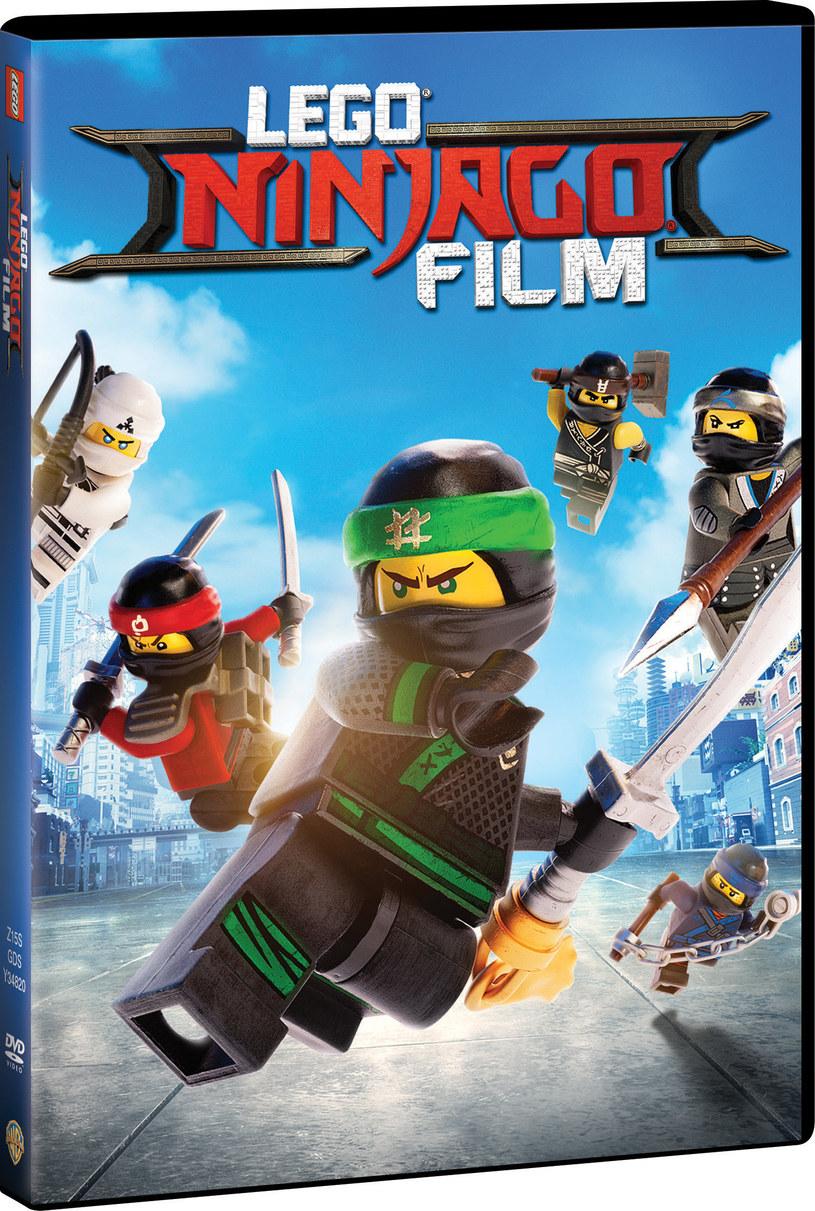 """Okładka DVD """"LEGO Ninjago Film"""" /materiały prasowe"""