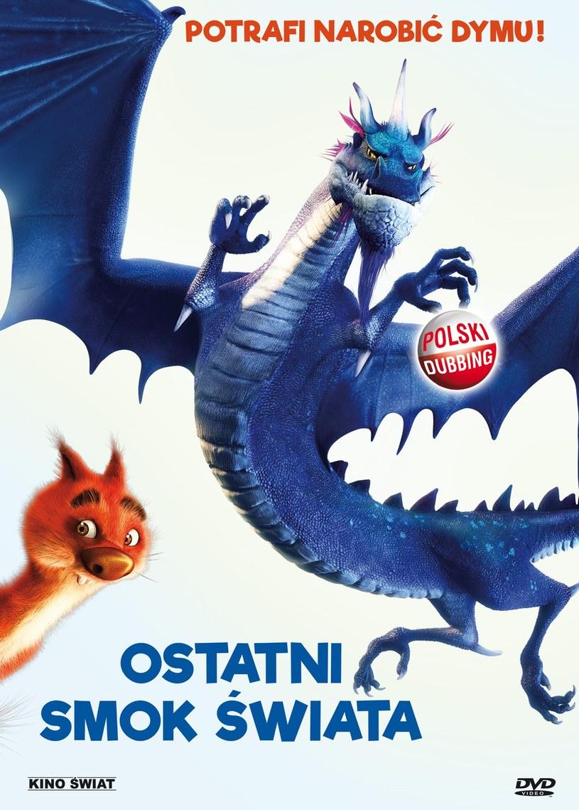 """Okładka DVD """"Ostatni smok świata"""" /materiały prasowe"""