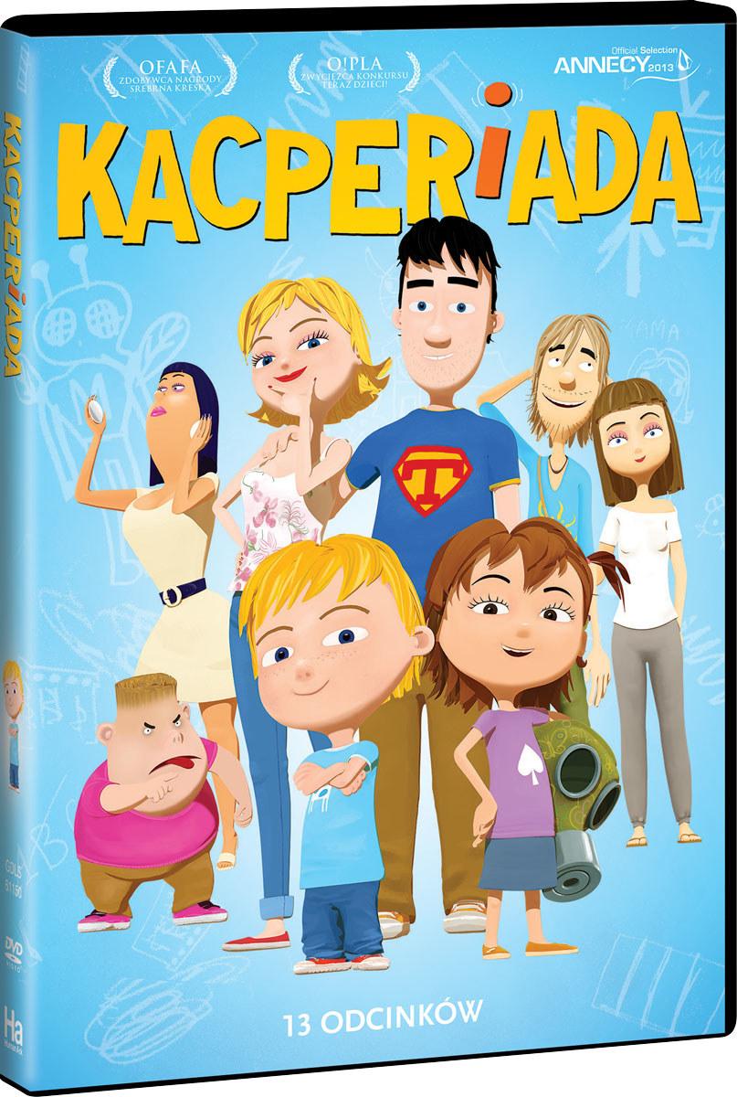 """Okładka filmu """"Kacperiada"""" /materiały prasowe"""